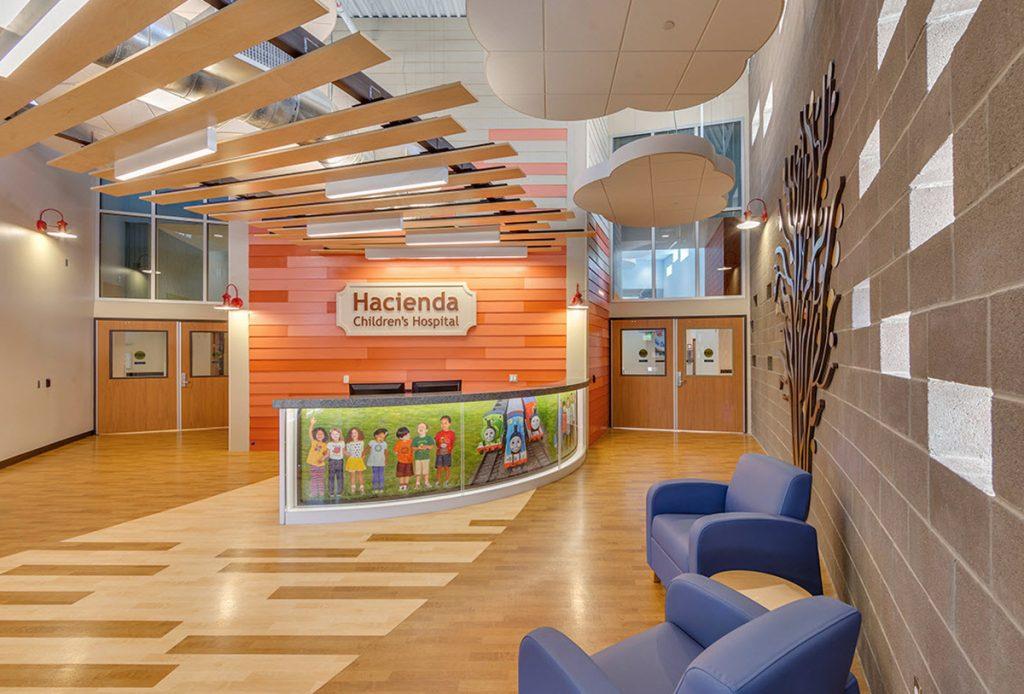 McCarthy Nordburg Interior Design Healing Children's Hospital Environment