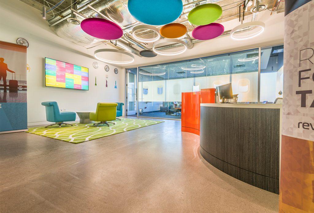 McCarthy Nordburg Tech-Inspired Call Center Interior Design