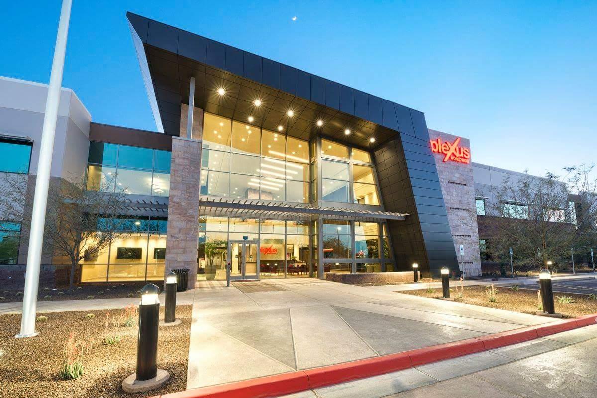Architectural Design Firm Phoenix Creates Bold & Colorful Corporate Office Design - McCarthy Nordburg