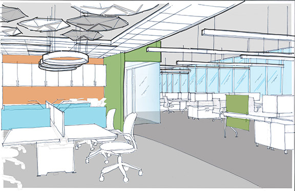 Tech-Inspired Corporate Office - McCarthy Nordburg