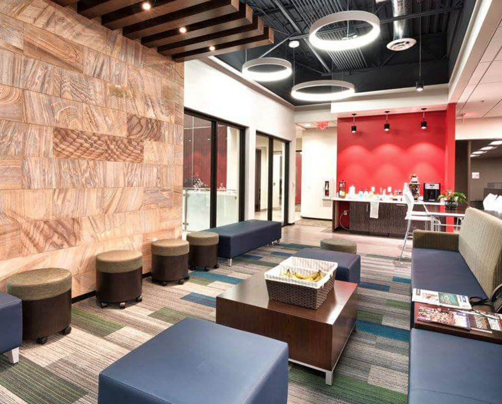 Architectural Design Firm Phoenix Creates Bold & Colorful Corporate Office Design - McCarthy Nordburg